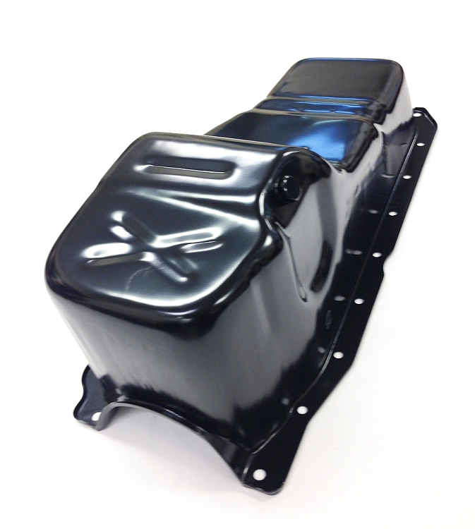 USED 350 Oil Pan Vortec 1 PC Rear Main Seal 5.7L Oil Pan