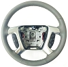 Leather Steering Wheel Titanium Gray OEM New 23105345 Acadia 2013 2014