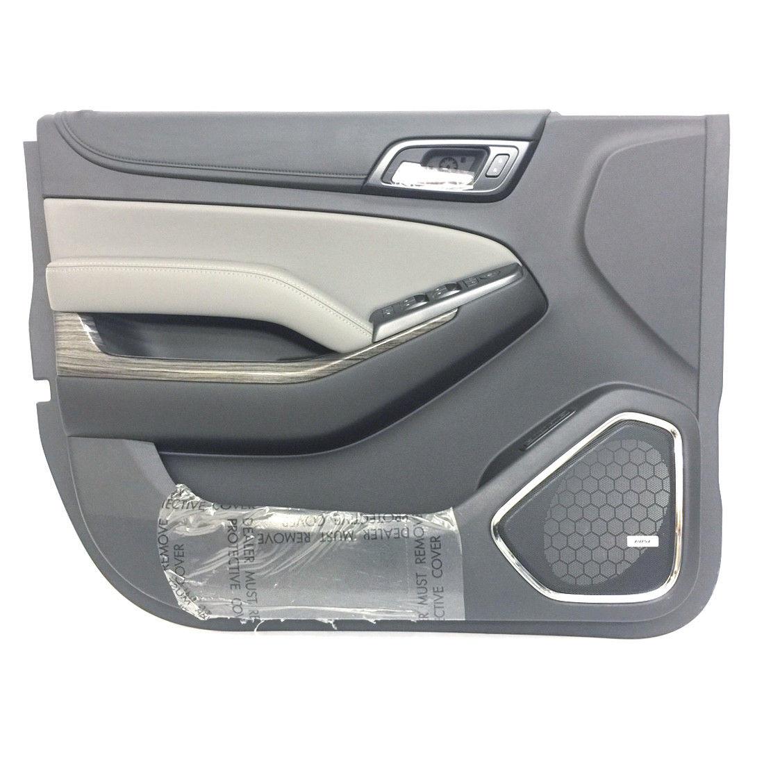tahoe door lt panel chevrolet front jet premier ash lh dark interior exterior