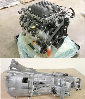 New 6.2L LSA Supercharged 556HP Engine Assembly + TR6060 STD Transmission (COMBO) CAMARO ZL1c, CTS-V Series